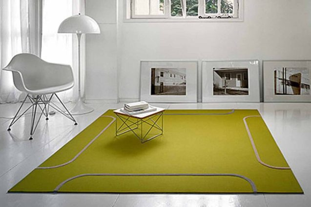 Rugs for interior design and interior
