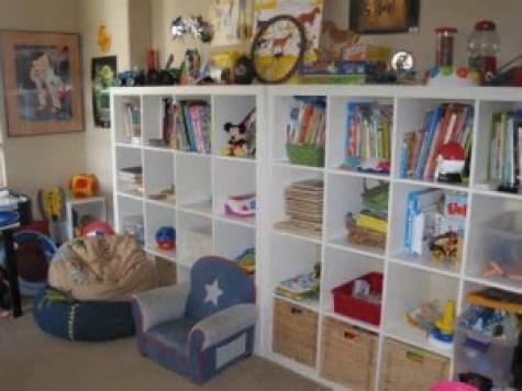 Kids Playroom and Playroom Storage