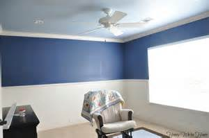 Painting a Room 2 Colors Two Colors in a Room