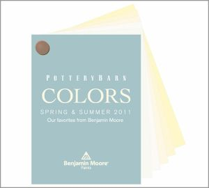 Pottery Barn Colors Benjamin Moore Paint Fan Deck Customer