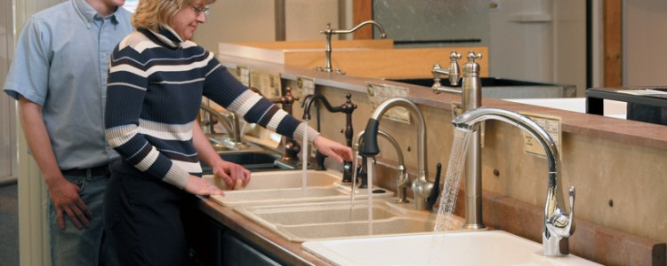 New Delta Touch® Faucet