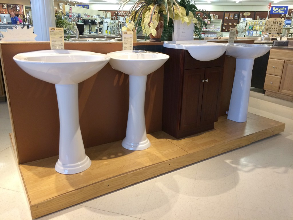 Different Types Of Sinks Bathroom Lavatory Pedestal