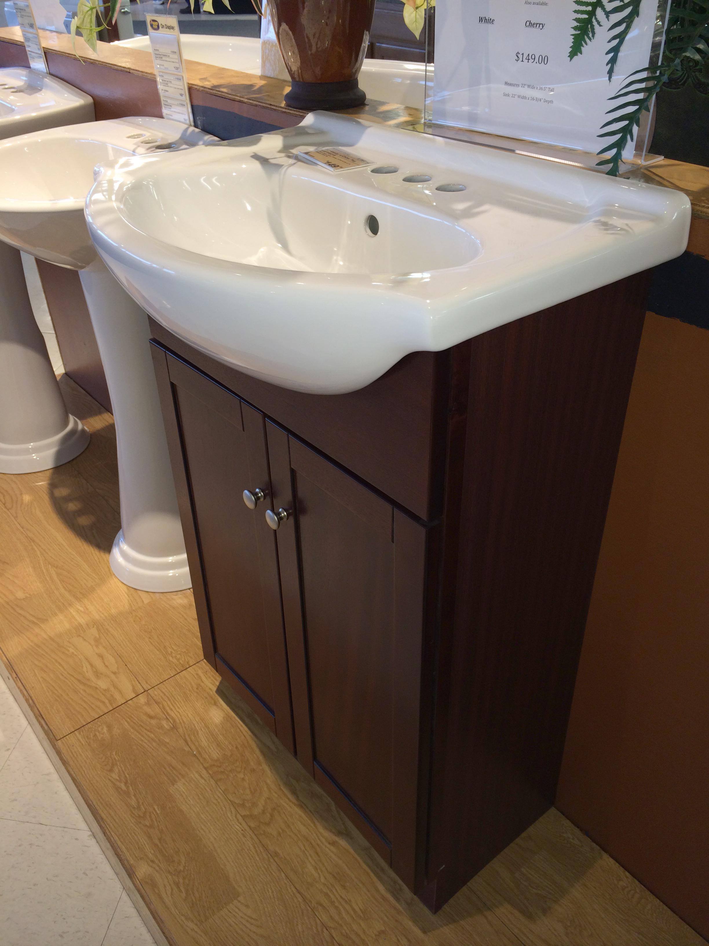 New Vanity For Pedestal Sink Ze08 Roccommunity