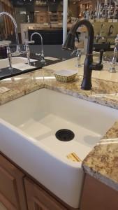 Enameled Iron Sink