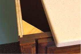 Bathroom Vanity Plywood Veneer