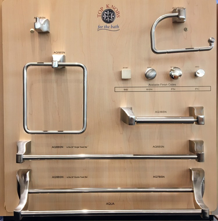Top knobs collection towel bars and drawer pulls