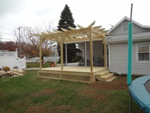 Deck Builder Pergola