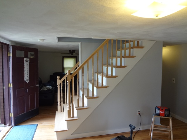 Oak Stairs Rebuilt
