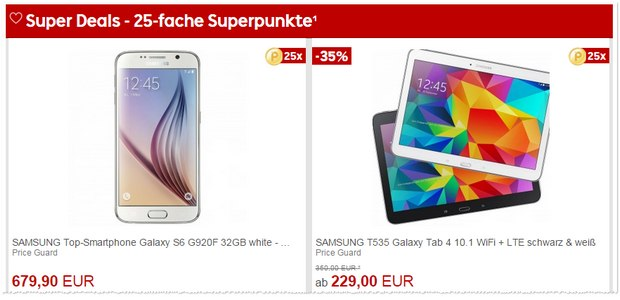 Rakuten Super Deals am 21.4.2015