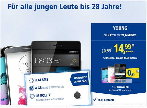 1und1 All-Net Flat Young