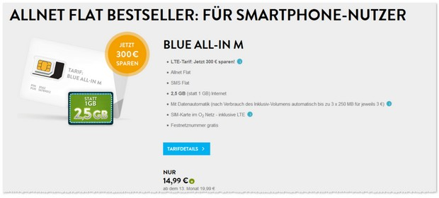 o2 Blue All-in M