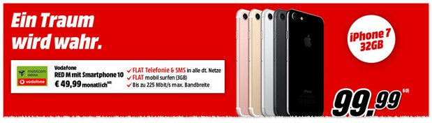 Vodafone Red M (md) + iPhone 7