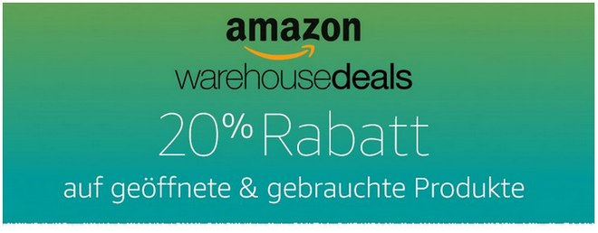 Amazon Warehouse Deals Rabatt zur Cyber Monday Woche 2016