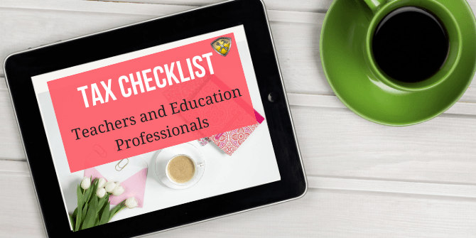 ax Checklist Teachers and Education Professionals
