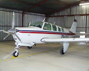 A36 Bonanza ZS-LOJ - first look