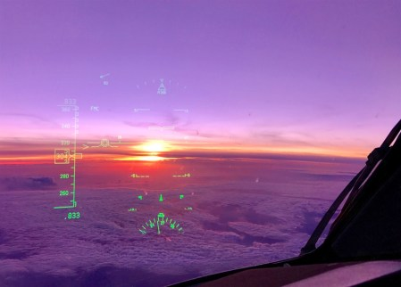 The obligatory HUD sunset shot