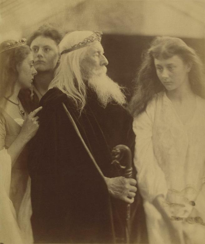 JMC-king-lear-alotting-his-kingdom-to-his-three-daughters-web