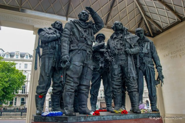 Bomber Command memorial London