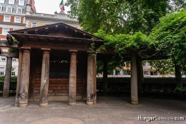 9/11 Memorial garden Grosvenor Square London