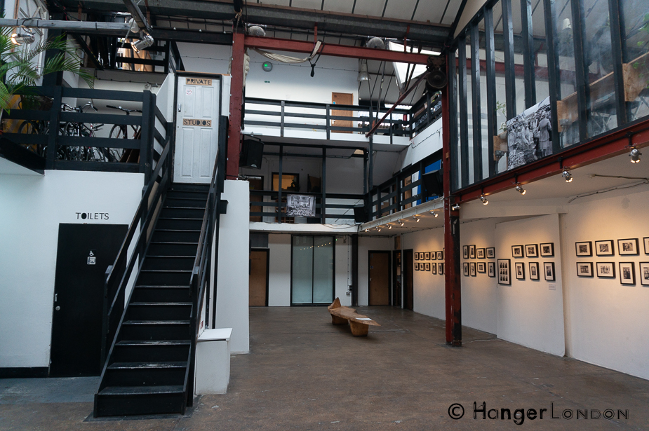 Stour Space Interior, Gallery and cafe