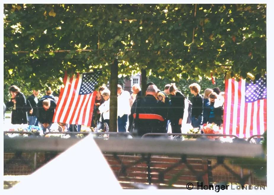 Tributes, US Embassy 2001