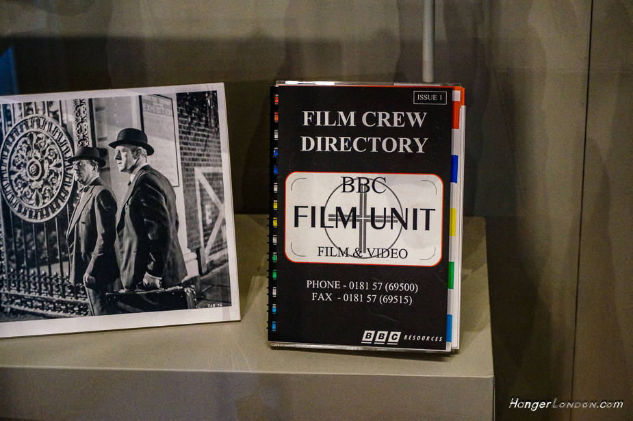 Part of Ealing connections with film studios in the Museum at Gunnersbury House