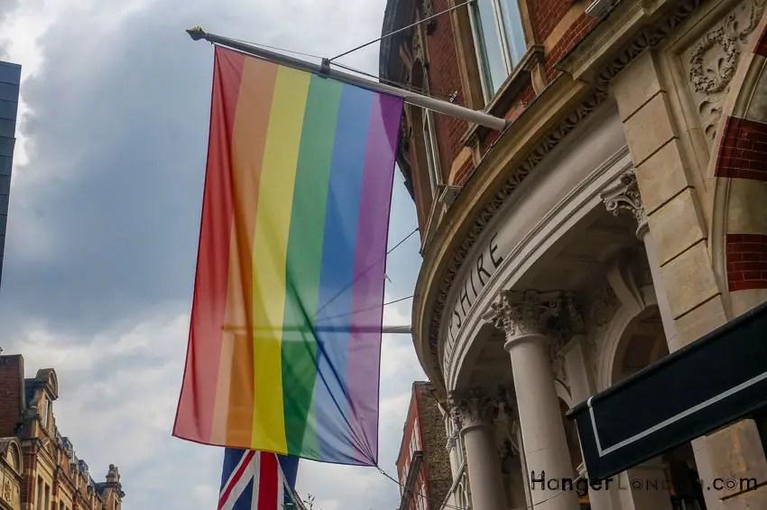 Rainbow Flag summer 2018 London Pride