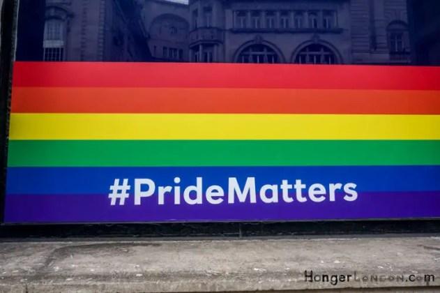 Rainbow Flag summer 2018 London Pride Matters