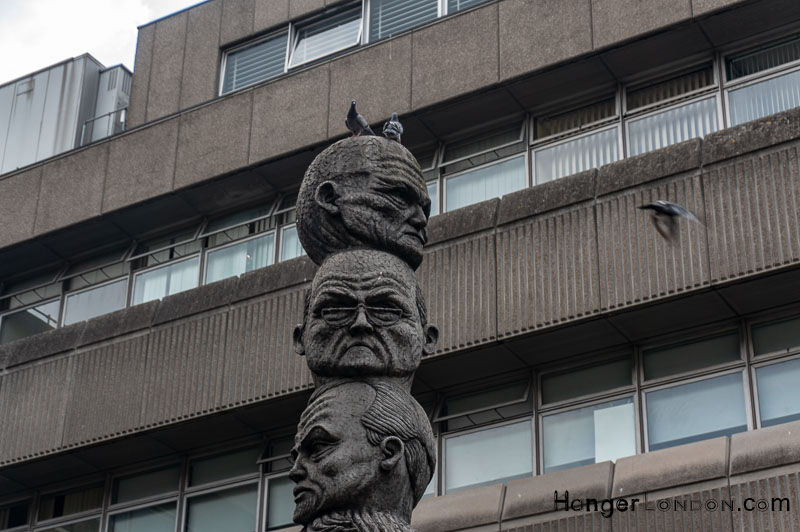 Artist Richard Kindersley The Seven Ages of Man Sculpture