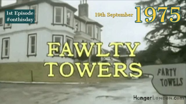 19th September 1975 Fawlty Towers first episode 1