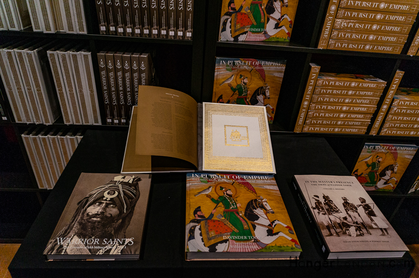 Finding books in a local library about the Empire of the Sikhs has proven challenging, thin on the ground. The Exhibition has a bookshop, and there is a link to it here. https://www.kashihouse.com/