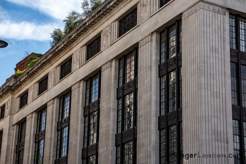 99 side entrance Kensington High street
