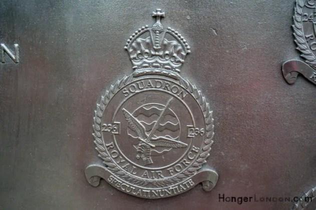 All Bronze RAF Squadron Badges 7