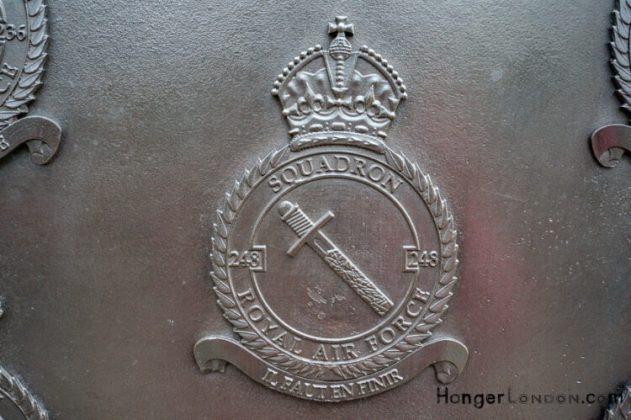 All Bronze RAF Squadron Badges 10