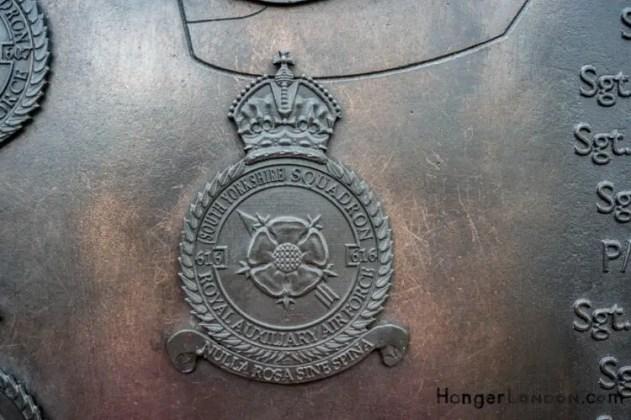 All Bronze RAF Squadron Badges 8