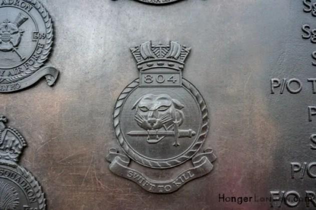 All Bronze RAF Squadron Badges 12