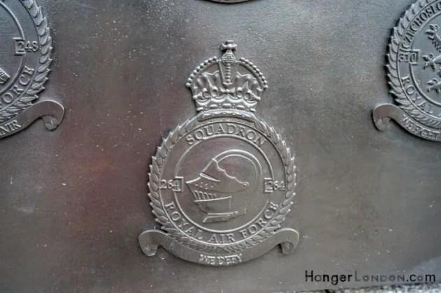 All Bronze RAF Squadron Badges 6