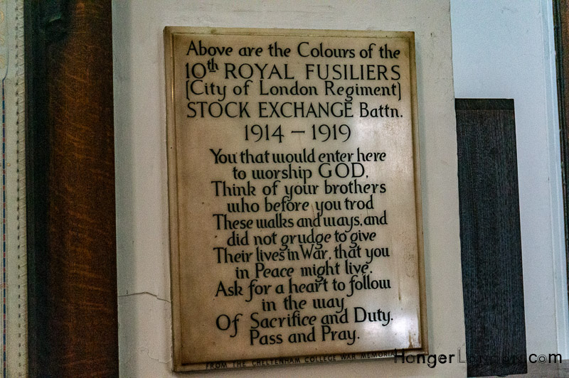 Royal Fusiliers Remembrance