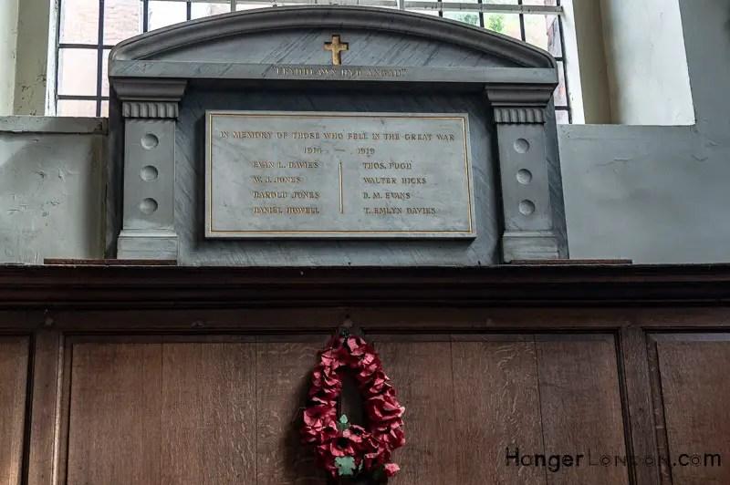 St Benet Remembrance