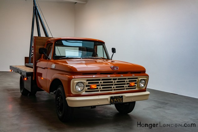 Chris Burden American Pickup Truck at the Gagosian 8