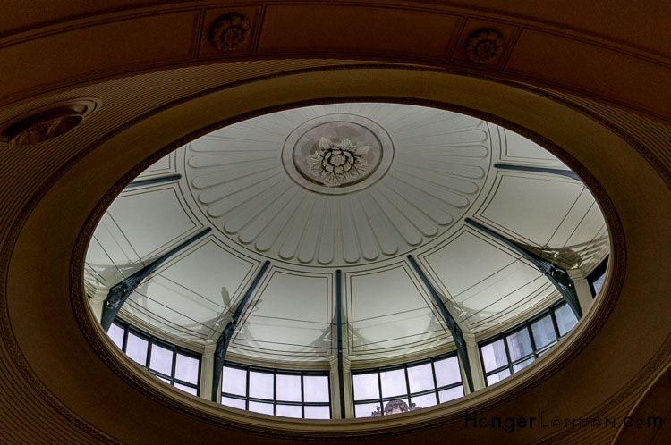 Domed Roof Bank of England Stock Office section