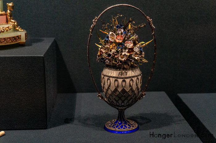 Fabergé Basket of Flowers Egg 1901