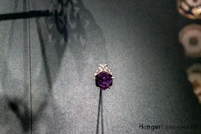 Siberian Amethyst Pendant Jewel Purple 1900-09 Fabergé