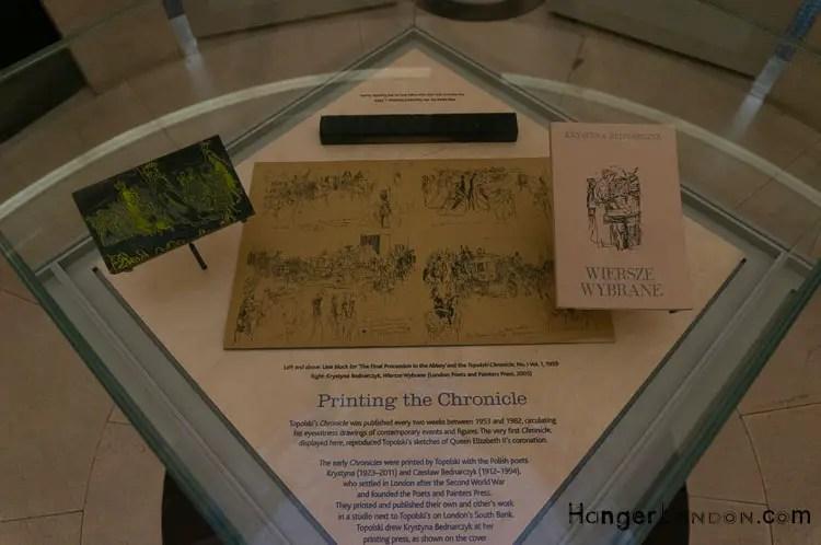 Topolski info Bank of England Museum Rotunda