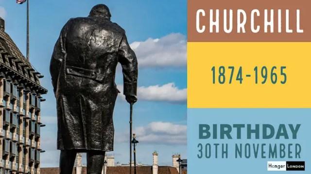 Winston Churchill Born 1874, 30th November