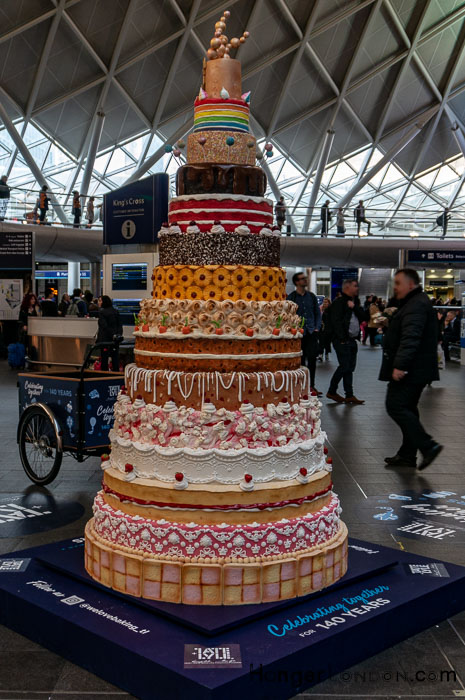 140 years Take and Lyle 15 Tier cake Kings Cross 8th Nov 2018