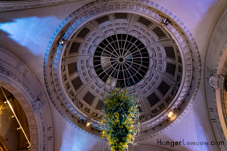 Victoria and Albert Domed inside view of ceiling Reception