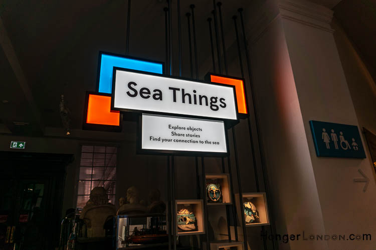 Sea things Entrance to Gallery Maritime Museum