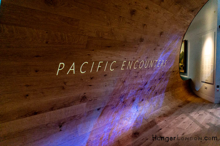 Pacific Encounters Gallery Entrance Maritime Museum