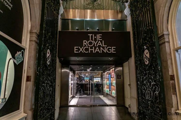Entrances The Royal Exchange Boutiques